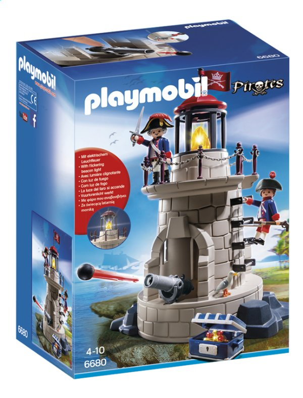 Playmobil 6680 - Mirante Dos Soldados Com Farol