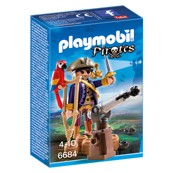 Playmobil 6684 - Capitão Pirata