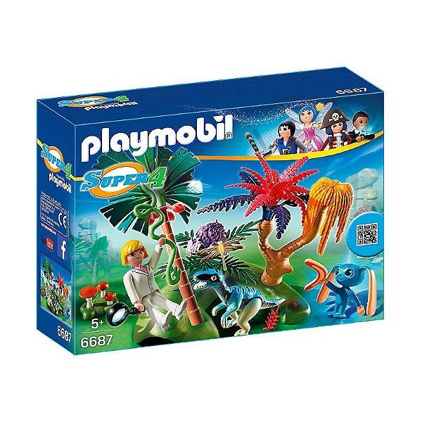 Playmobil 6687 - Super 4 Ilha Perdida