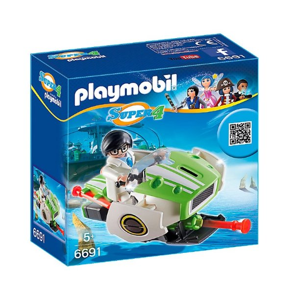 Playmobil 6691 - Super 4 Sky Jet