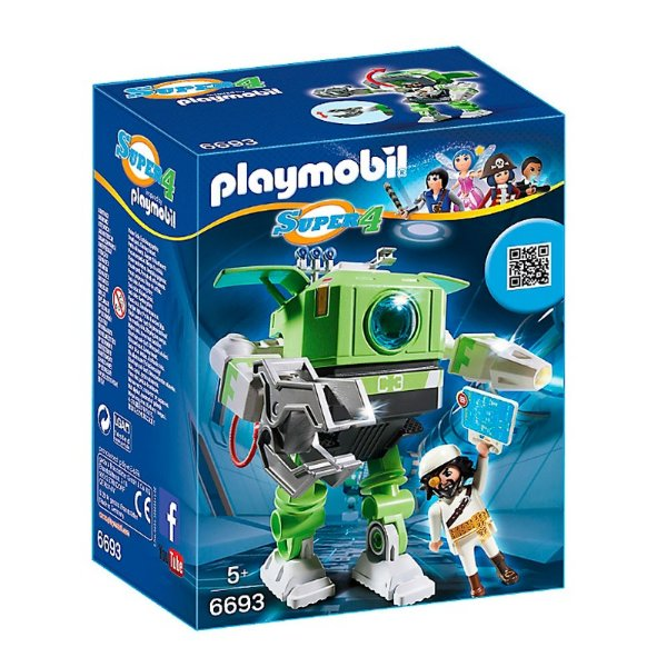Playmobil 6693 - Super 4 Robô Cleano