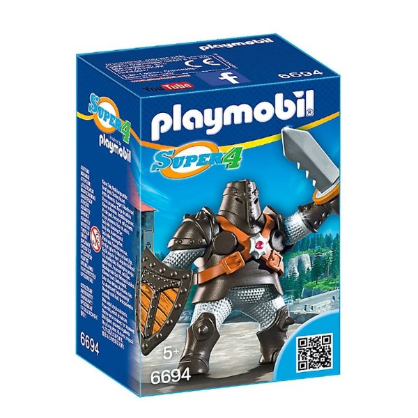 Playmobil 6694 - Super 4 Colossus Negro