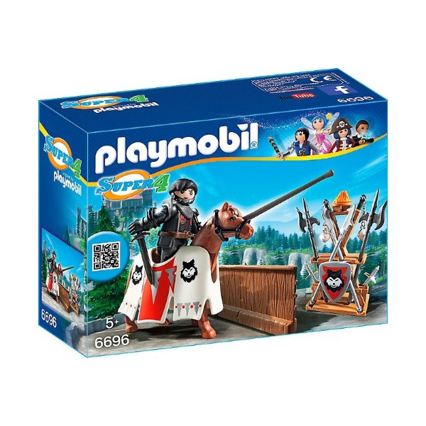 Playmobil 6696 - Super 4 Guardião do Barão Negro