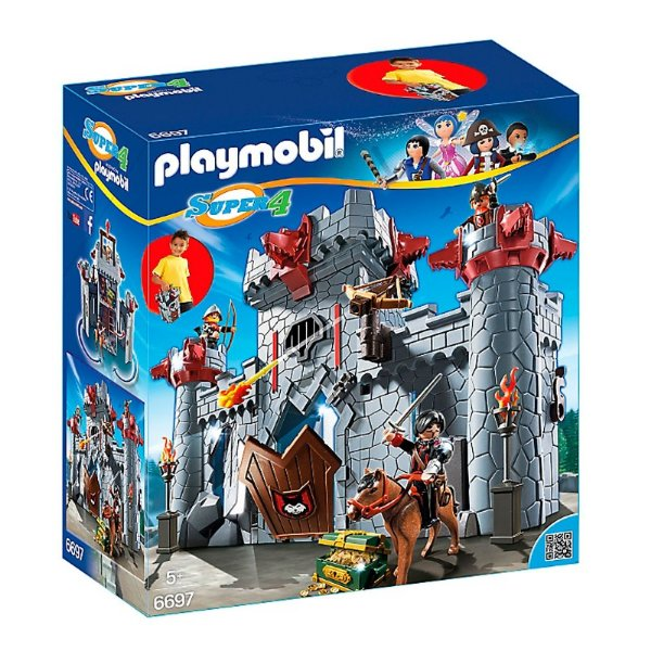Playmobil 6697 - Super 4 Castelo do Barão Negro