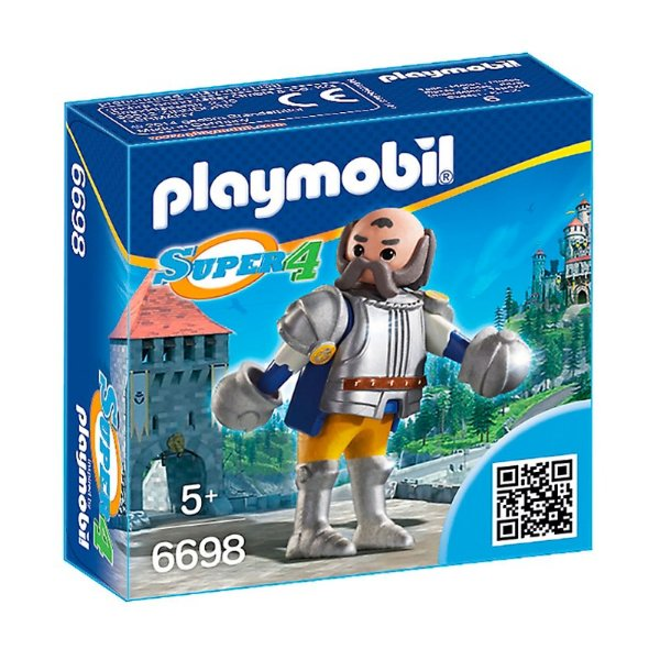 Playmobil 6698 - Super 4 Guardião Real Sir Ulf
