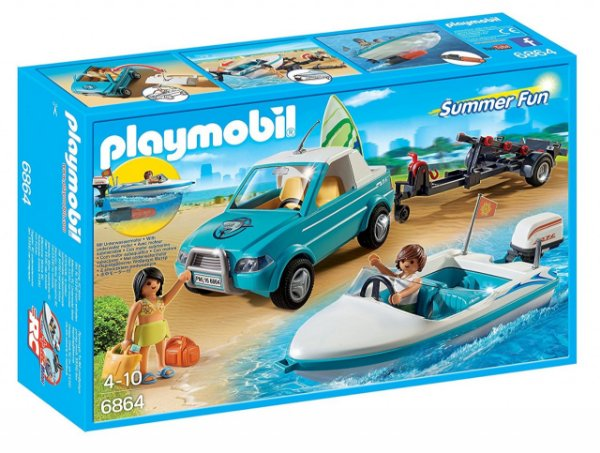 Playmobil 6864 - Surfista com Picape