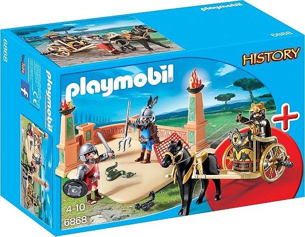 Playmobil 6868 - Arena de Combates com Gladiadores