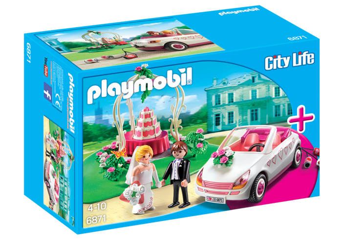 Playmobil 6871 - Casamento com Noivos