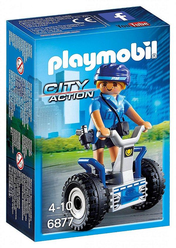 Playmobil 6877 - Polícia Feminina com Segway