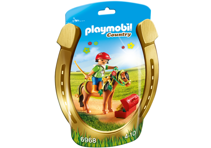 Playmobil 6968 - Soft Bags Poney's