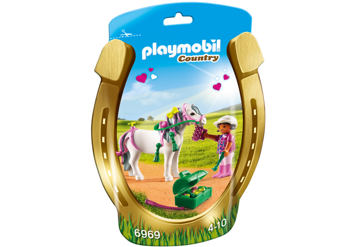 Playmobil 6969 - Soft Bags Poney's