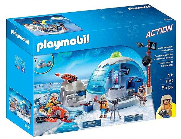 Playmobil 9055 - Central da Expedição Ártica