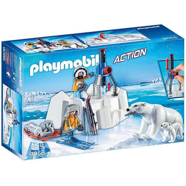 Playmobil 9056 - Exploradores árticos com urso polar