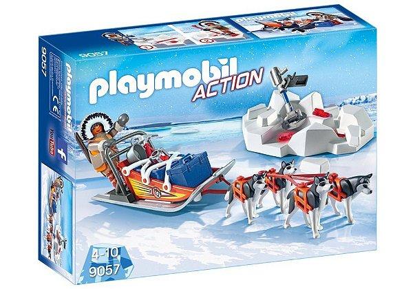 Playmobil 9057 - Trenó puxado por Huskies