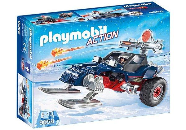 Playmobil 9058 - Pirata do gelo com snowmobile