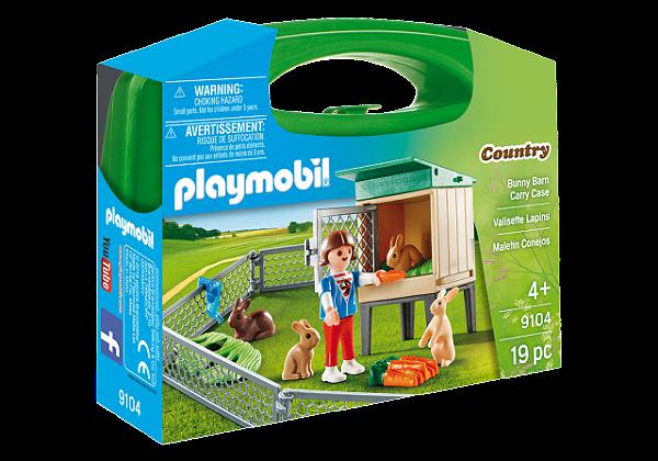 Playmobil 9104 - Maleta Bunny Coelhos