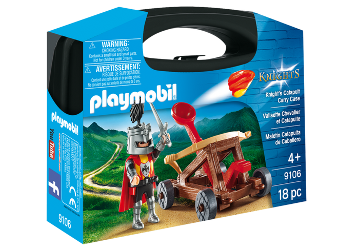 Playmobil 9106 - Maleta Catapulta do Cavaleiro