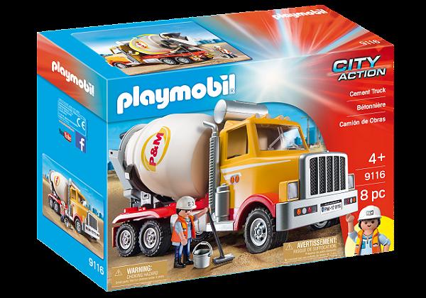 Playmobil 9116 - Caminhão Betoneira