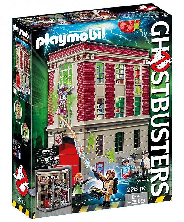 Playmobil 9219 - Sede dos Caça-Fantasmas