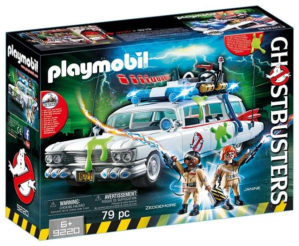 Playmobil 9220 - Ghostbusters Veículo dos Caça-Fantasmas Ecto-1