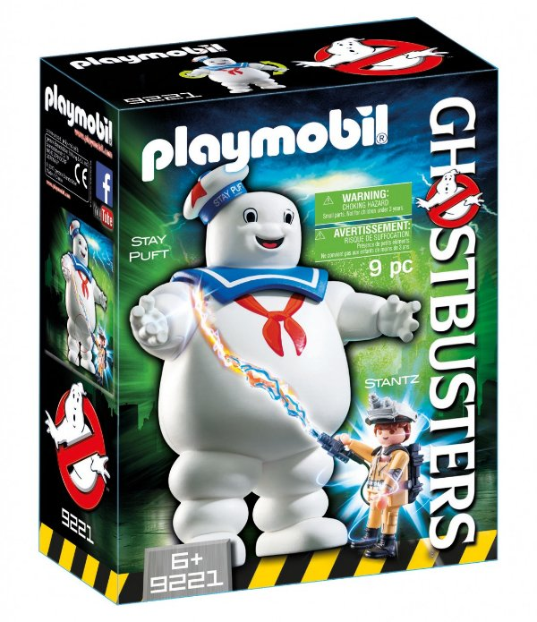 Playmobil 9221 - Ghostbusters Homem-Marshmallow Stay Puft