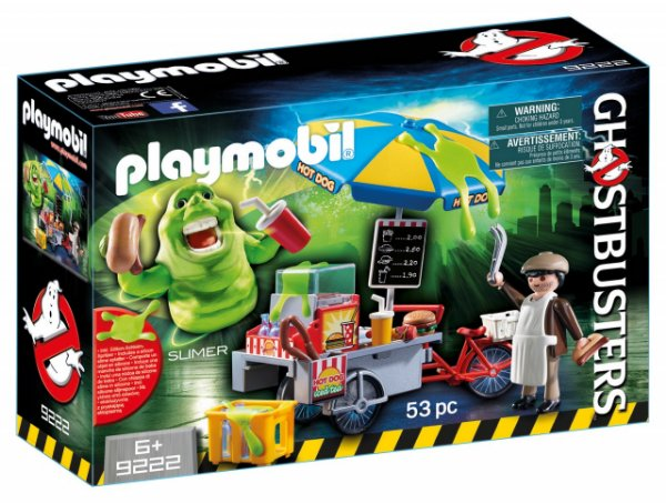 Playmobil 9222 - Ghostbusters Geleia Carrinho com Hot Dog