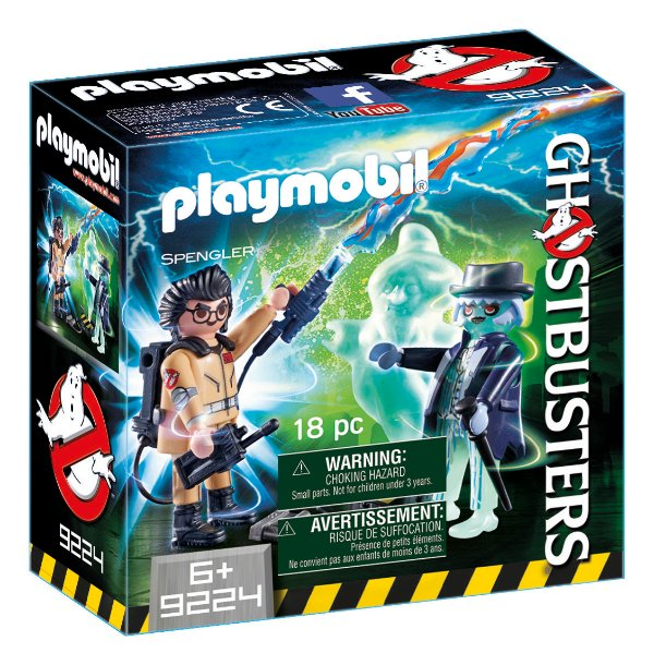 Playmobil 9224 - Ghostbusters Spengler e Fantasma