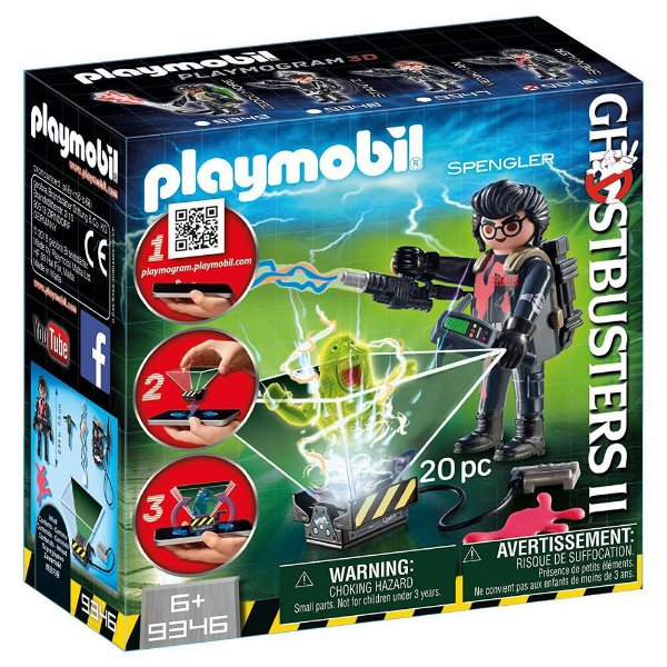 Playmobil 9346 - Ghostbusters 2 Monstros Holográficos Egon Spengler
