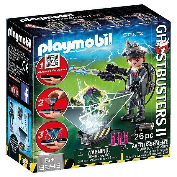 Playmobil 9348 - Ghostbusters 2 Monstros Holográficos Raymond Stantz