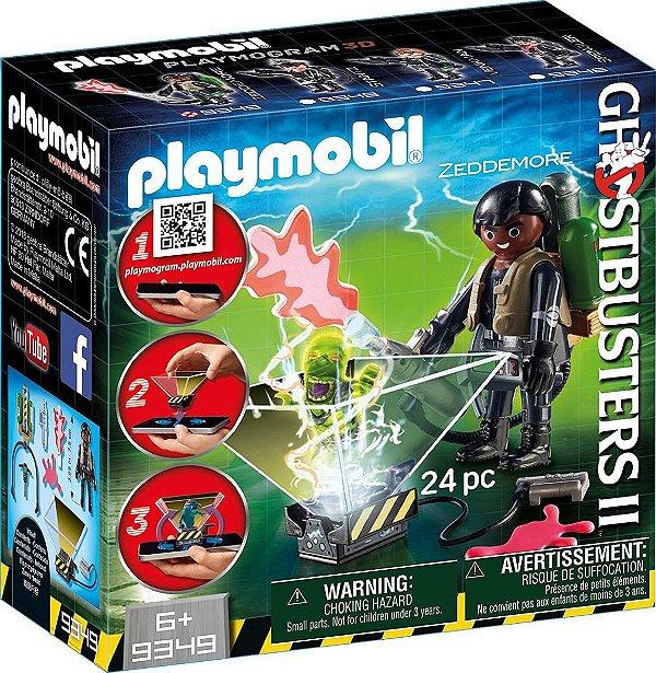 Playmobil 9349 - Ghostbusters 2 Monstros Holográficos Winston Zeddemore
