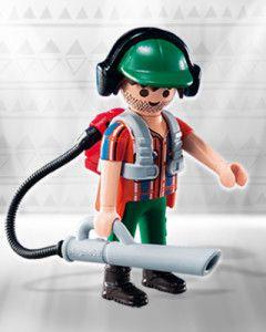 Playmobil 6840 - Figuras Surpresas Serie 10 Masculino #9