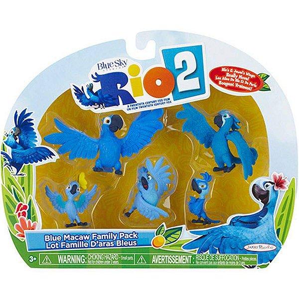 Rio 2 - Familia Blue.