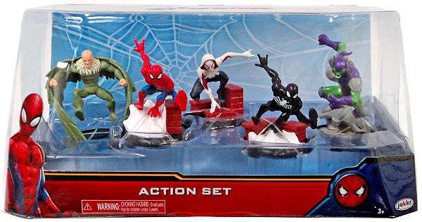 Playset Domo Com Figuras Homem Aranha