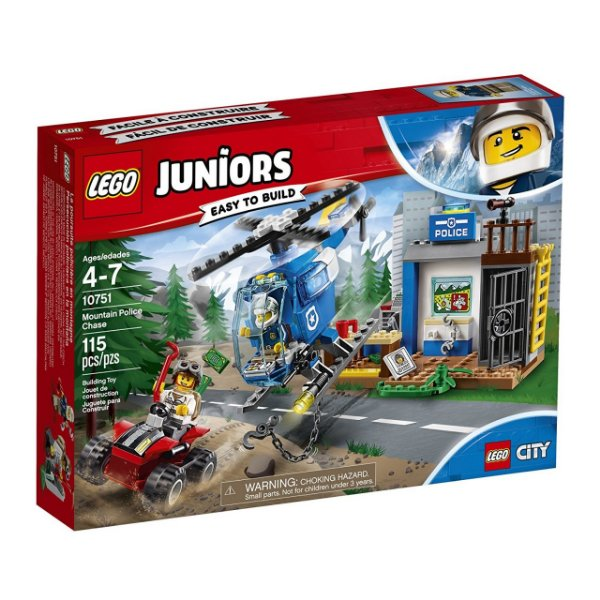 LEGO Juniors - Perseguição Policial na Montanha 10751