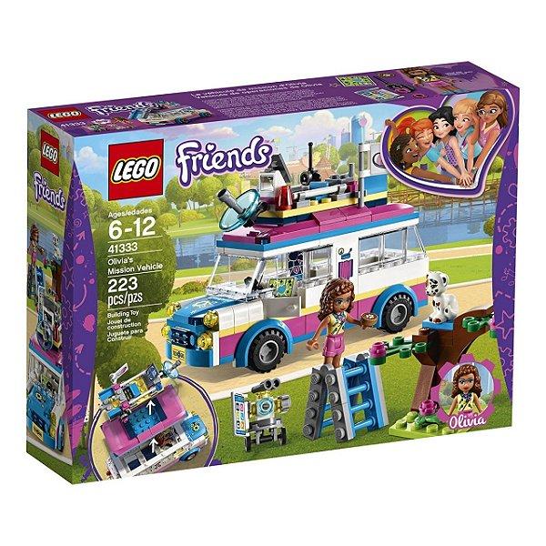 LEGO Friends - O Veículo de Missões da Olivia 41333