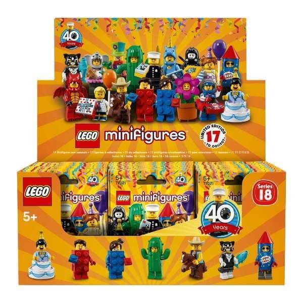 LEGO Minifigures - Série 18 Completa