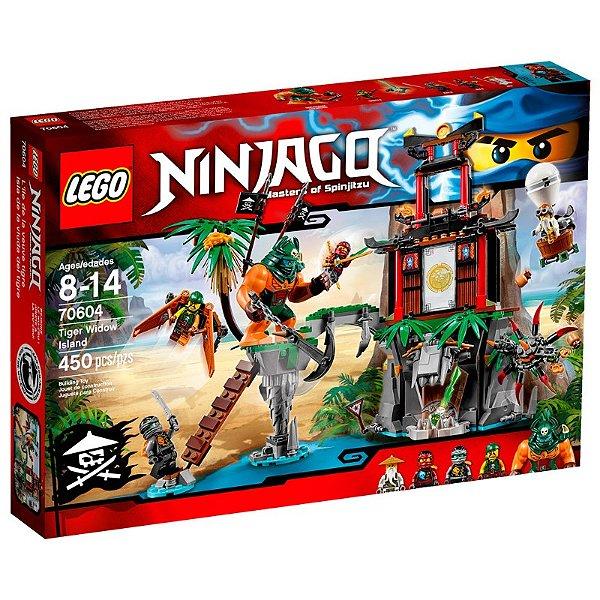 LEGO Ninjago - Ilha da Viúva Tigre 70604