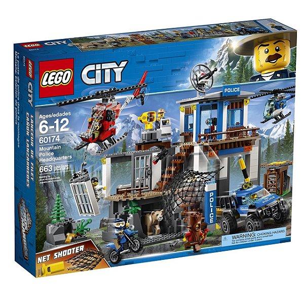 LEGO City - Quartel-General da Polícia na Montanha 60174