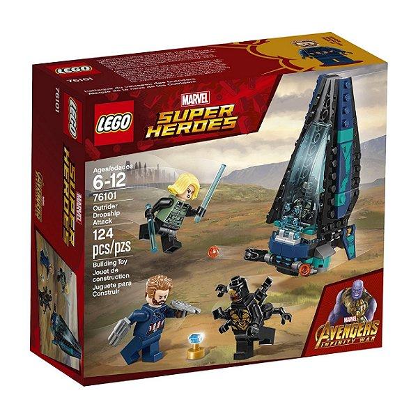 LEGO Super Heroes - Ataque à Escolta de Cargueiro 76101