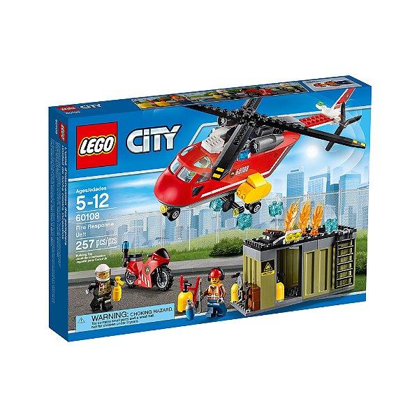 LEGO City - Corpo de Intervenção dos Bombeiros 60108