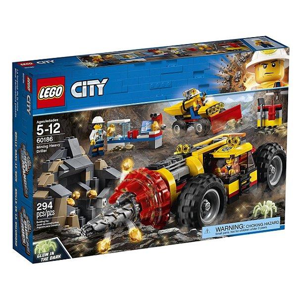 LEGO City - Perfuradora Pesada de Mineração 60186