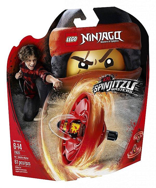 LEGO Ninjago - Kai - Mestre de Spinjitzu 70633