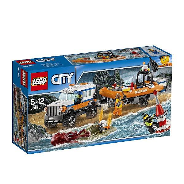 LEGO City - Unidade de Resgate 4 x 4 60165