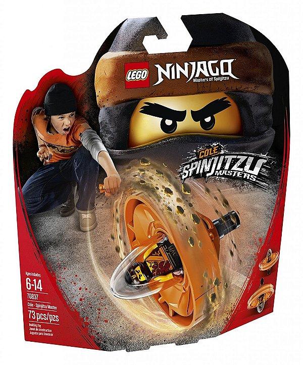 LEGO Ninjago - Cole - Mestre de Spinjitzu 70637