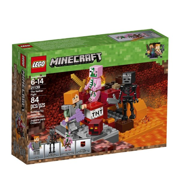LEGO Minecraft - O Combate de Nether 21139