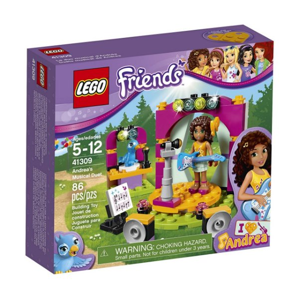 LEGO Friends - O Dueto Musical da Andrea 41309