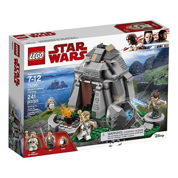 LEGO Star Wars - Treinamento na lha Ahch-To 75200