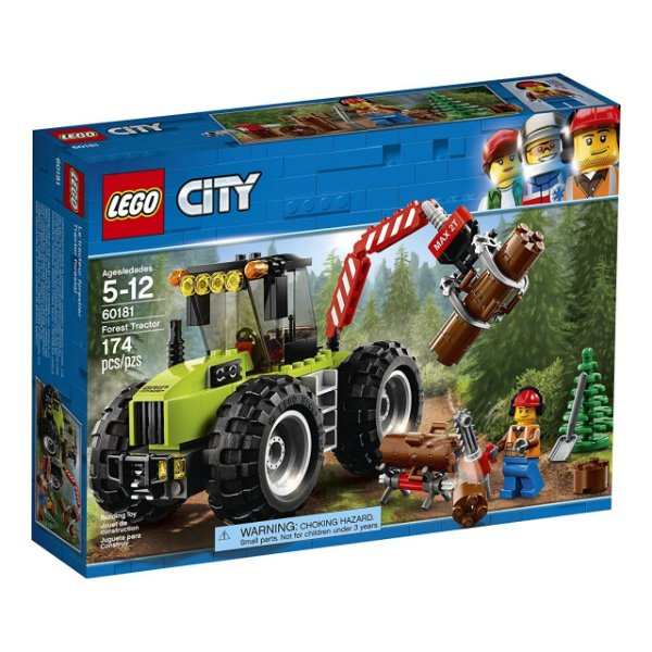 LEGO City - Trator Florestal 60181