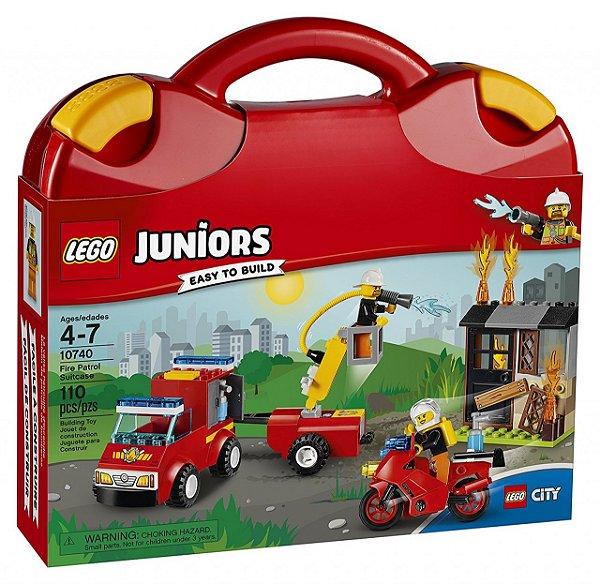 LEGO Juniors - Mala do Corpo de Bombeiros 10740