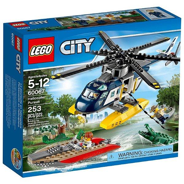 LEGO City - Perseguição Helicóptero 60067